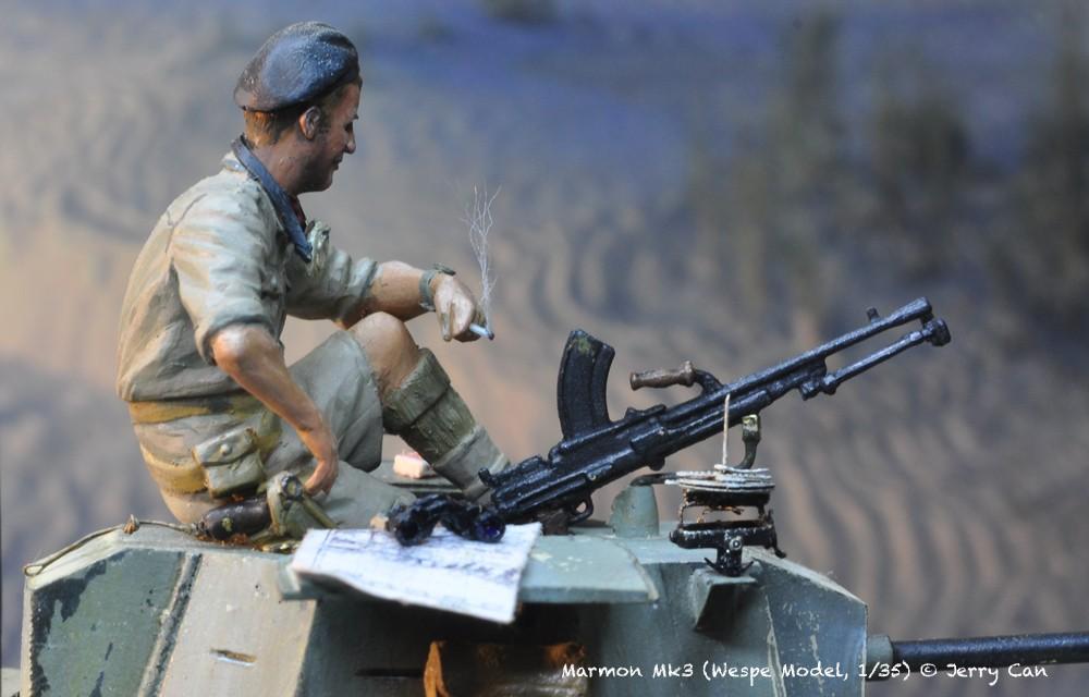 Marmon Herrington Mk3 dans le désert... Finalisation du diorama Marmon14