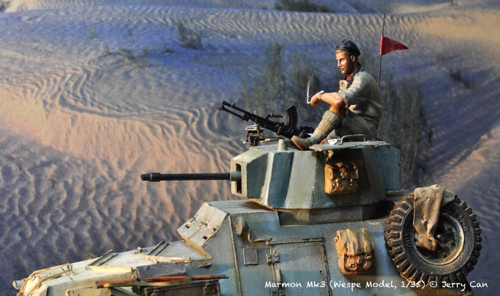 Marmon Herrington Mk3 dans le désert... Finalisation du diorama Marmon15