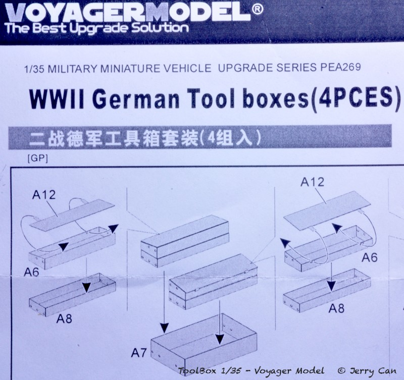 Coffre à outils Allemand [Voyager Model, 1/35] Toolbo10