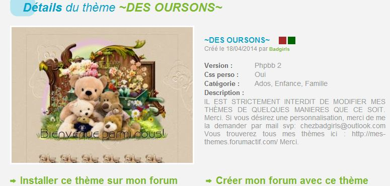 THEMES ANIMAUX Desour10