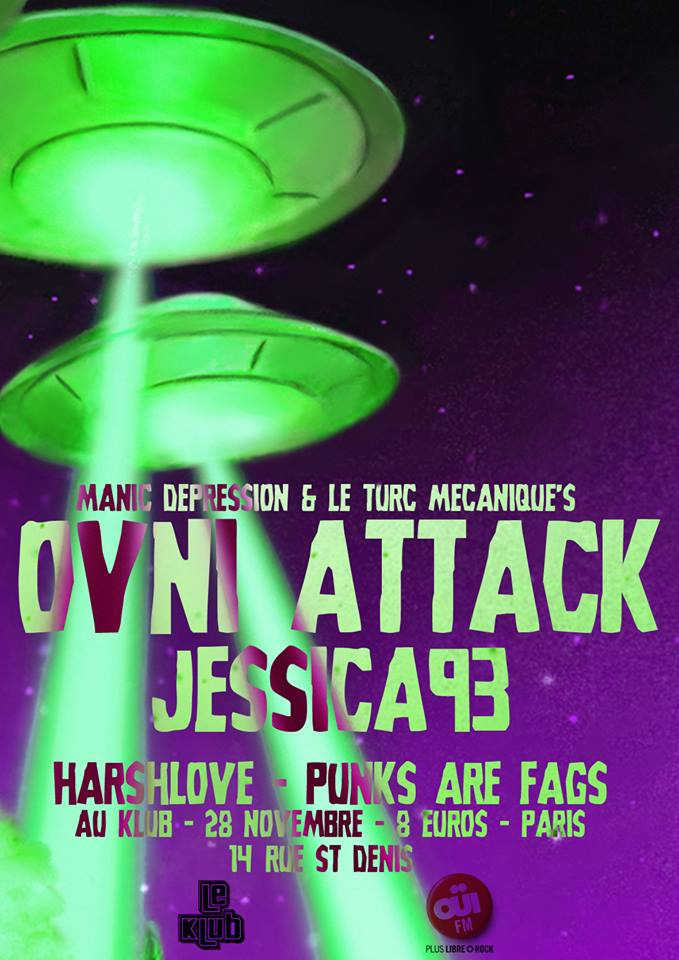[28/11/2013]Jessica 93+Punks Are Fags+Harshlove @ Paris Fly_2810