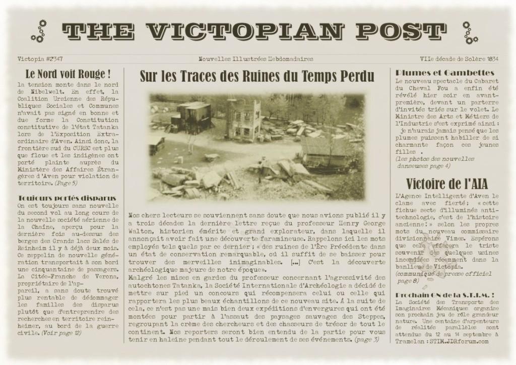 Un peu de contexte global : le Victopian Post Victop10