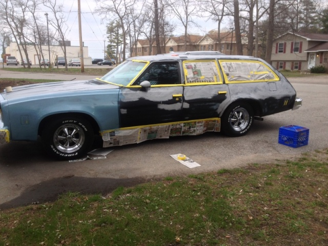 $200 driveway paint job Img_3615