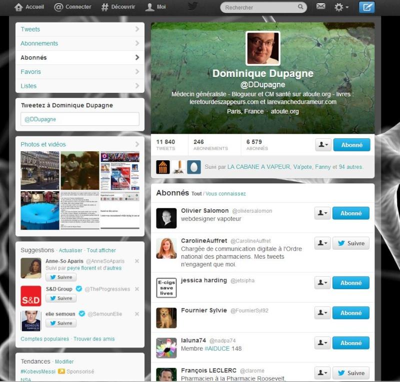 Twitter, un moyen d'expression pour la Vape? Captur52