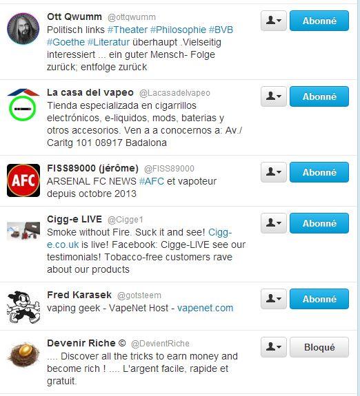Twitter, un moyen d'expression pour la Vape? Captur56