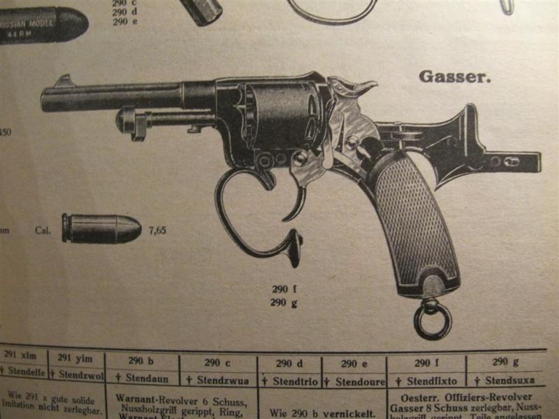 révolver Austro-hongrois WWI : Rast & Gasser Mle 1898  - Page 2 Img_6732