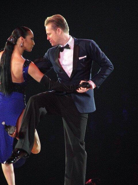 Nicky y Karen bailando Tango argentino Tango10