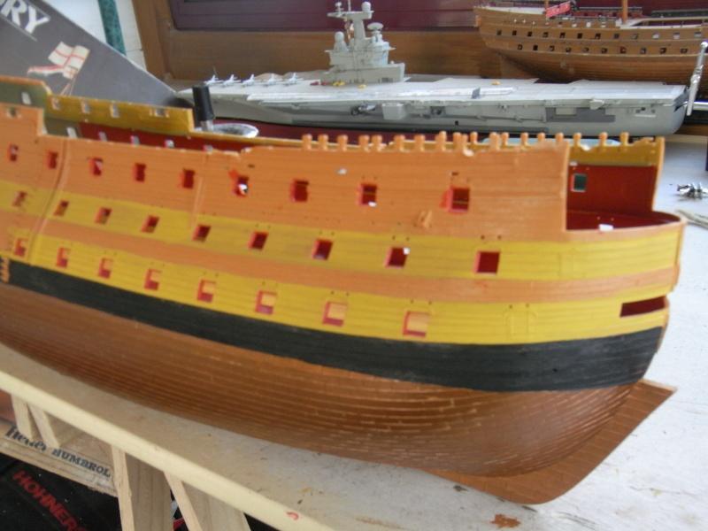 HMS Victory au 1/100ème de Heller. Rimg0022
