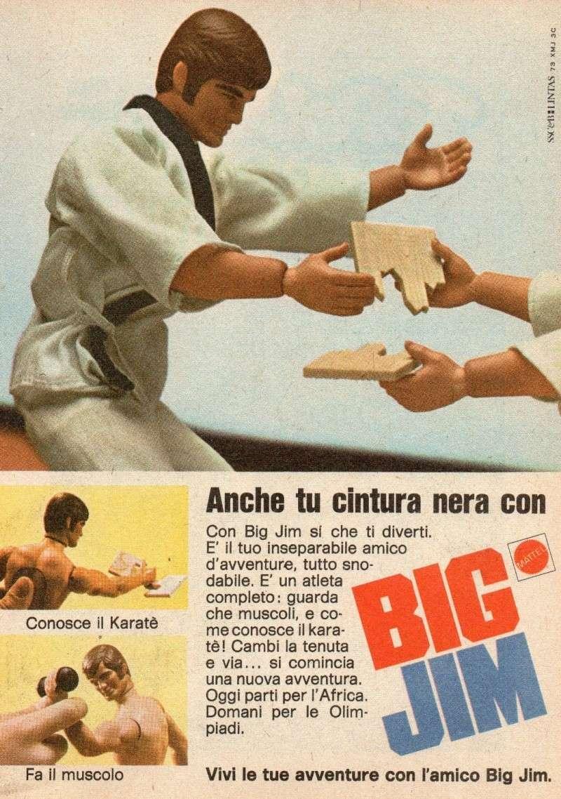 PUBBLICITA' ITALIANE BIG JIM - I PRIMI ANNI T2ec1614
