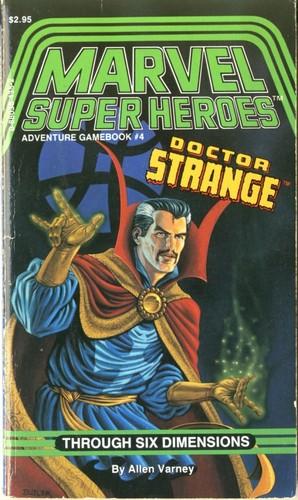 Marvel Super Heroes Adventure Gamebook 4 Pic64610
