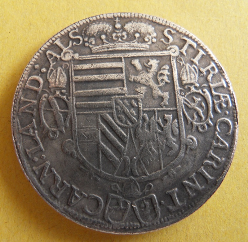 Thaler, landgraviat de Haute-Alsace au nom de Léopold archiduc d'Autriche 1620 Sdc10014