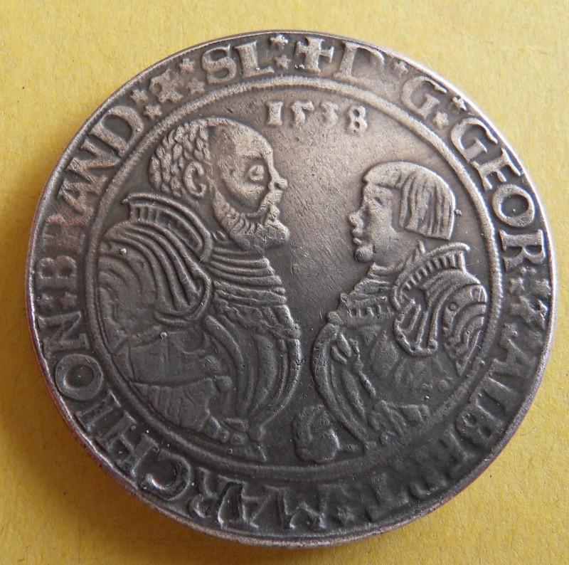 Thaler de Brandebourg, pour Georges et Albert, (1536-1545) Sdc10015