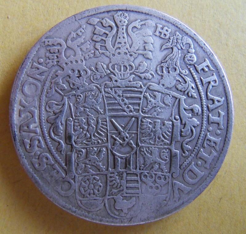 Thaler des Etats Allemands, pour la SAXE, 1592 Sdc10022