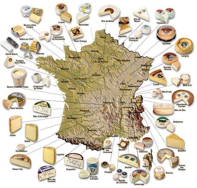 questions sur les fromages et leurs régions  Fromag10