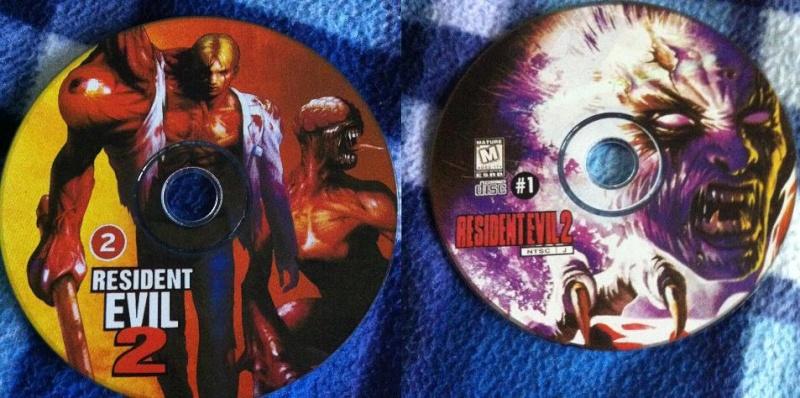 Resident Evil 2 PS1 NTSC J silverback  Discs11