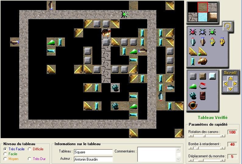 Map#11 : Square 3 Square11