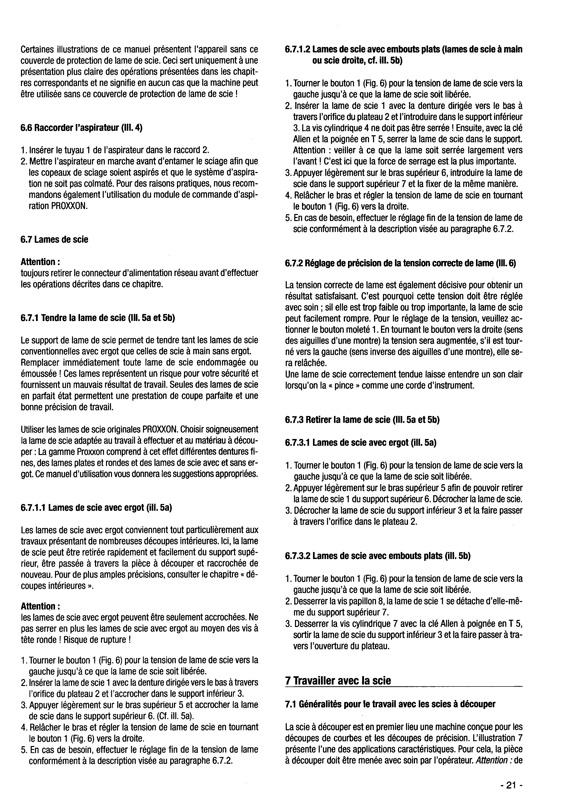 Scie à chantourner Proxxon DHS : qu'en penser ? - Page 2 Scie_p17