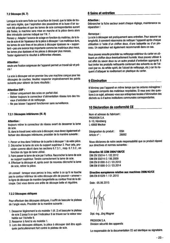 Scie à chantourner Proxxon DHS : qu'en penser ? - Page 2 Scie_p19