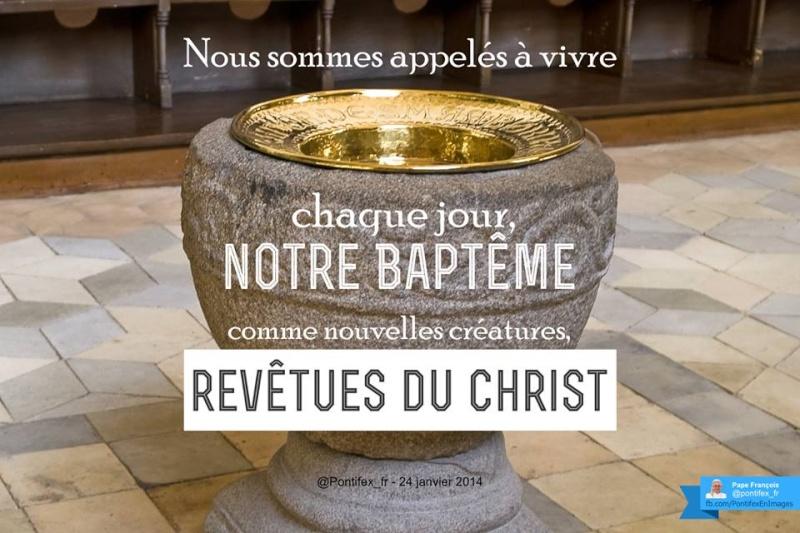 Tweets du Pape en image (Janvier) Baptam11