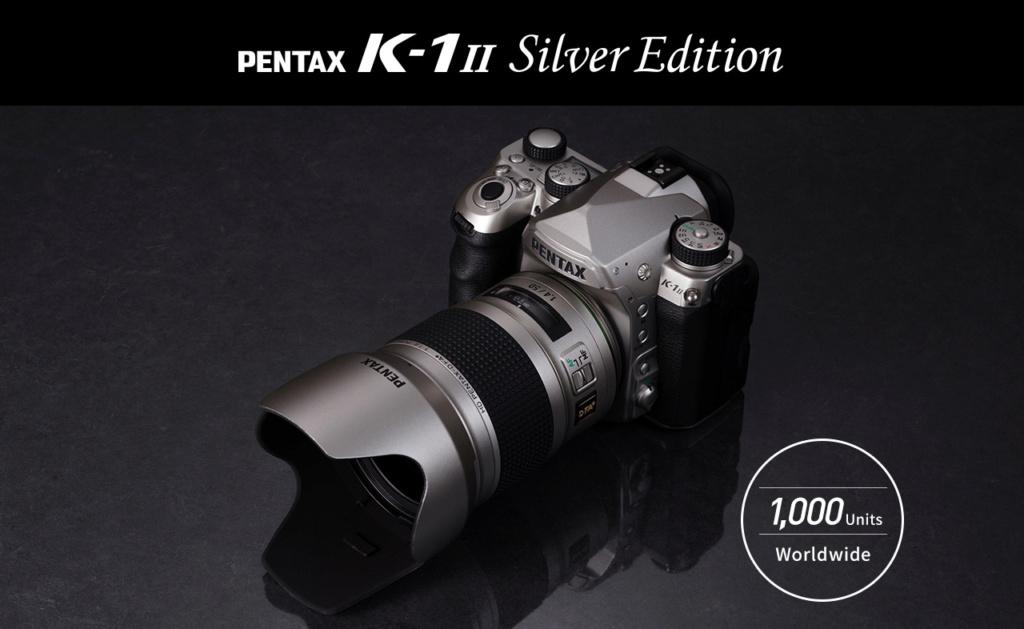Pentax K1 II Silver Edition + DFA* Silver Main_v10