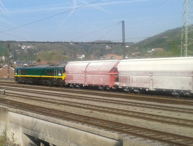 Class 66, Ligne 125A - Flémalle -> Kinkempois 2014-011