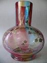 multicolored art nouveau vase, czech? P1250221