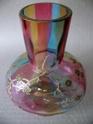 multicolored art nouveau vase, czech? P1250222
