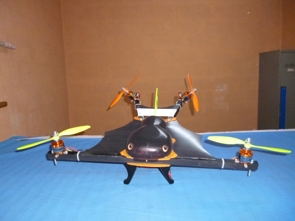 Les Mutli-rotors des membres du club Ckil_q10