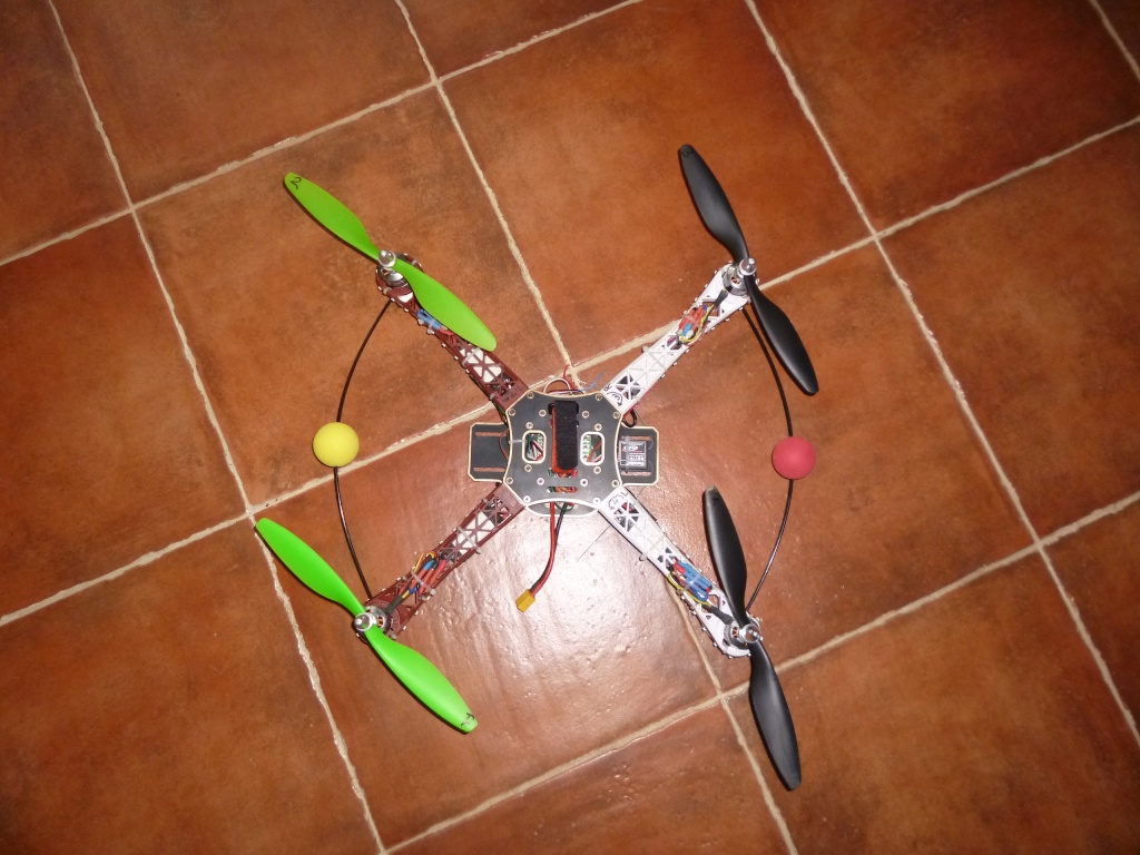 Le multi-rotor du club Quad_c10