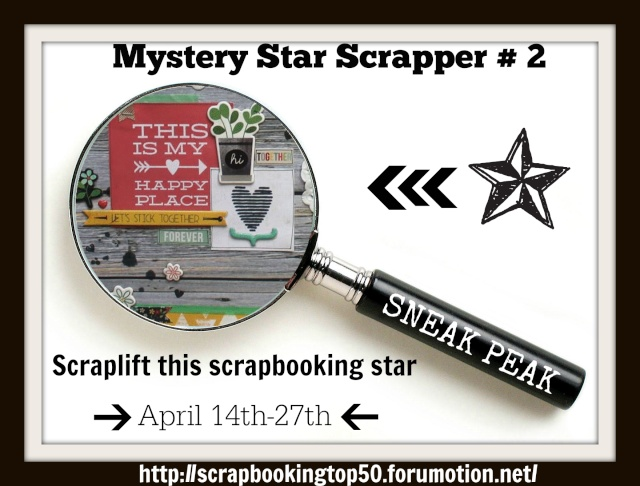 Mystery Scrapbooking Star #2 - NOW revealed- BERNII MILLER Scrapb10
