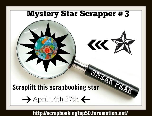 Mystery Scrapbooking Star #3- NOW revealed- SOPHIE KOSCHMANN Scrapb11