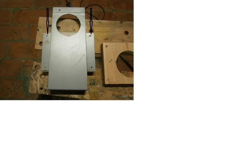 Pas à pas sur réalisation d'une guillotine pour aspiration machine à bois Guillo10