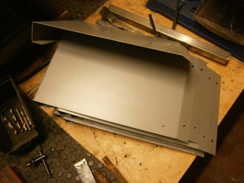 Pas à pas sur réalisation d'une guillotine pour aspiration machine à bois Pa260414