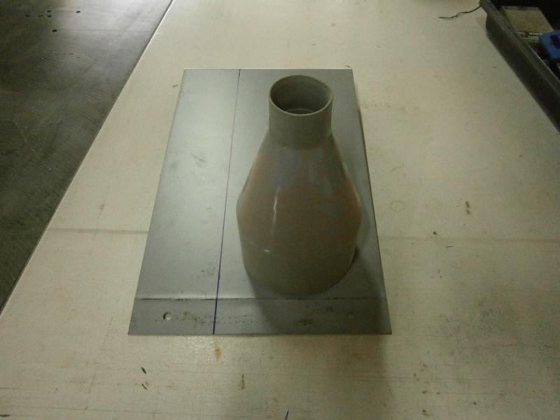 Pas à pas sur réalisation d'une guillotine pour aspiration machine à bois Pa260415