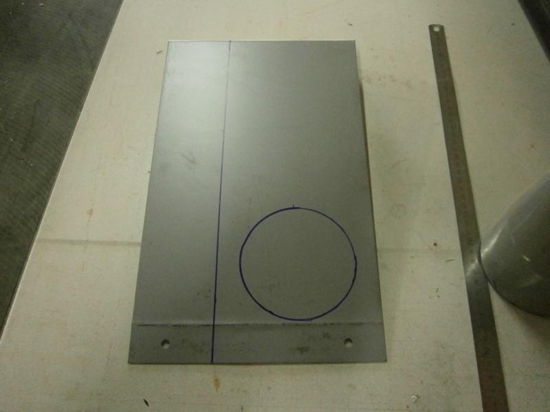 Pas à pas sur réalisation d'une guillotine pour aspiration machine à bois Pa260416