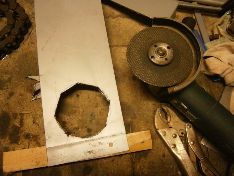 Pas à pas sur réalisation d'une guillotine pour aspiration machine à bois Pa260511