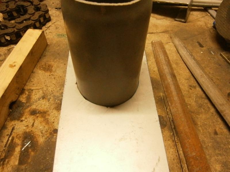 Pas à pas sur réalisation d'une guillotine pour aspiration machine à bois Pa260512