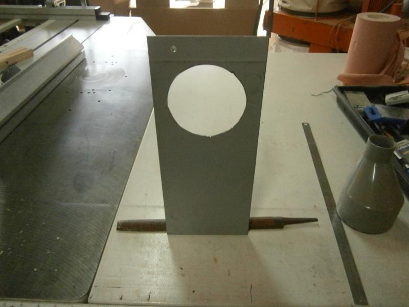 Pas à pas sur réalisation d'une guillotine pour aspiration machine à bois Pa260513