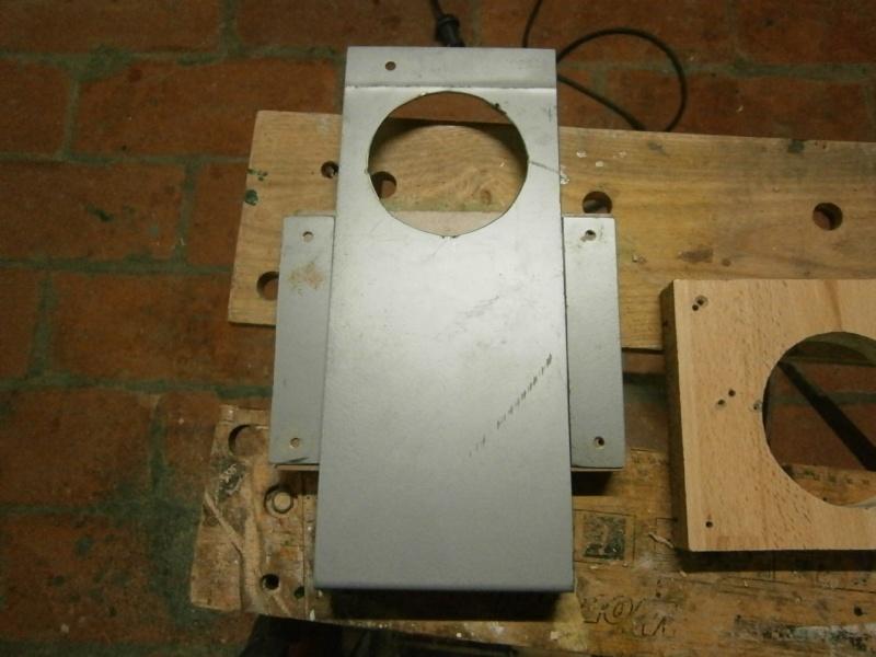 Pas à pas sur réalisation d'une guillotine pour aspiration machine à bois Pa260515