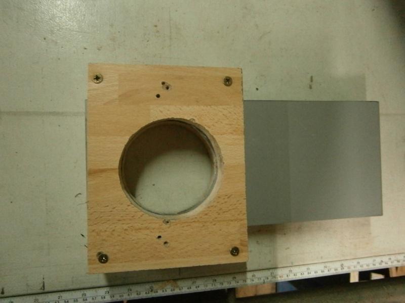 Pas à pas sur réalisation d'une guillotine pour aspiration machine à bois Pa260517