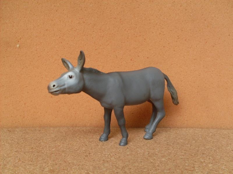 Papo 51028 Grey donkey Papo_d10