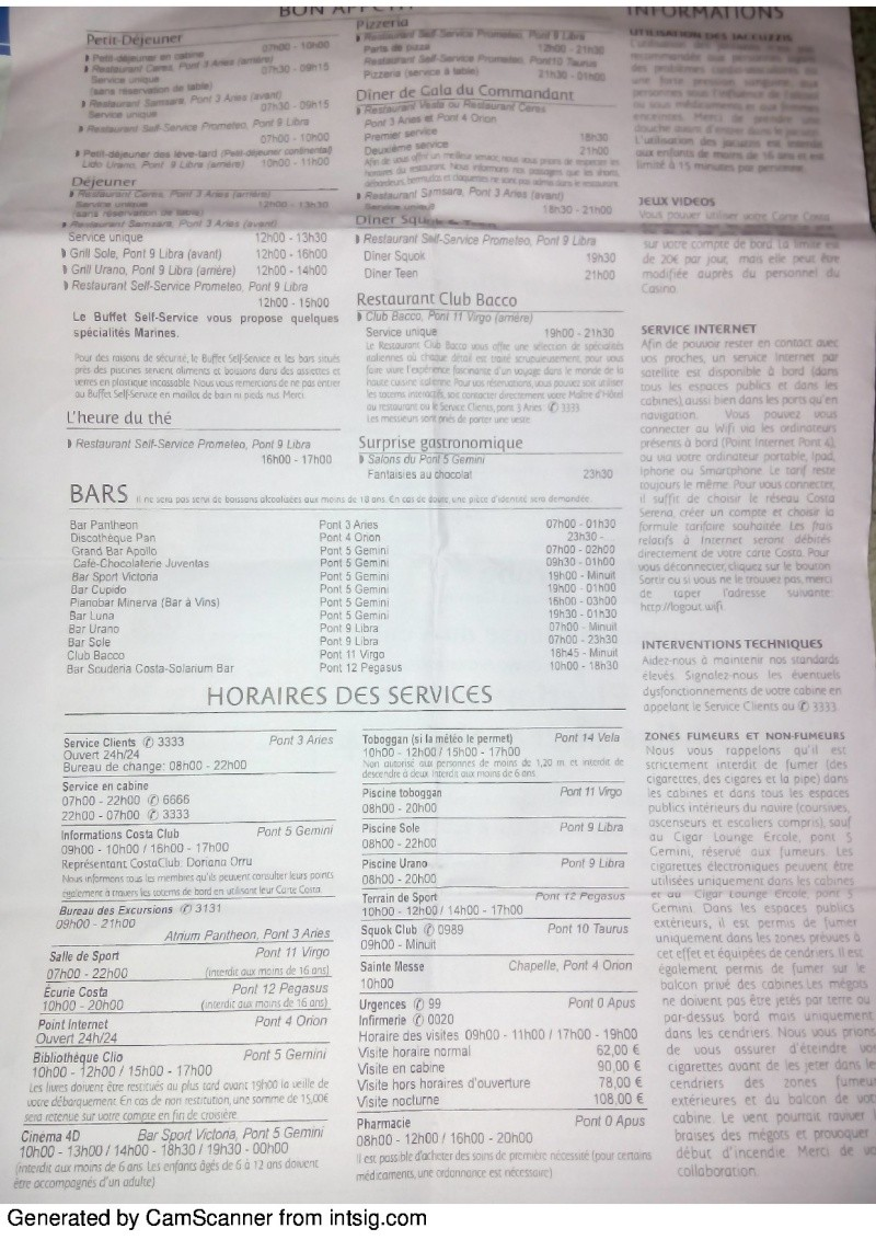 compte rendu de croisière sur le costa serena du 22/02/14 au 01/03/14 - Page 2 78924829
