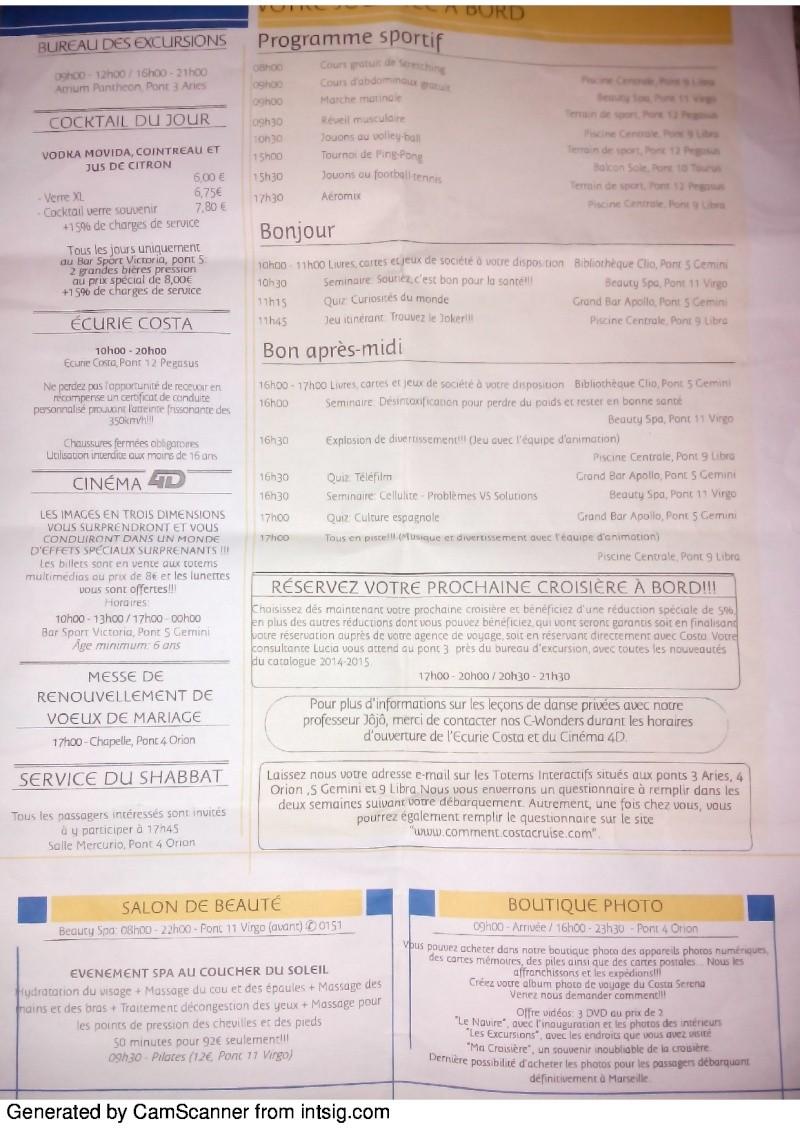 compte rendu de croisière sur le costa serena du 22/02/14 au 01/03/14 - Page 2 78924831