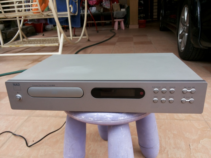 NAD C 521BEE CD Player(sold) 20131110
