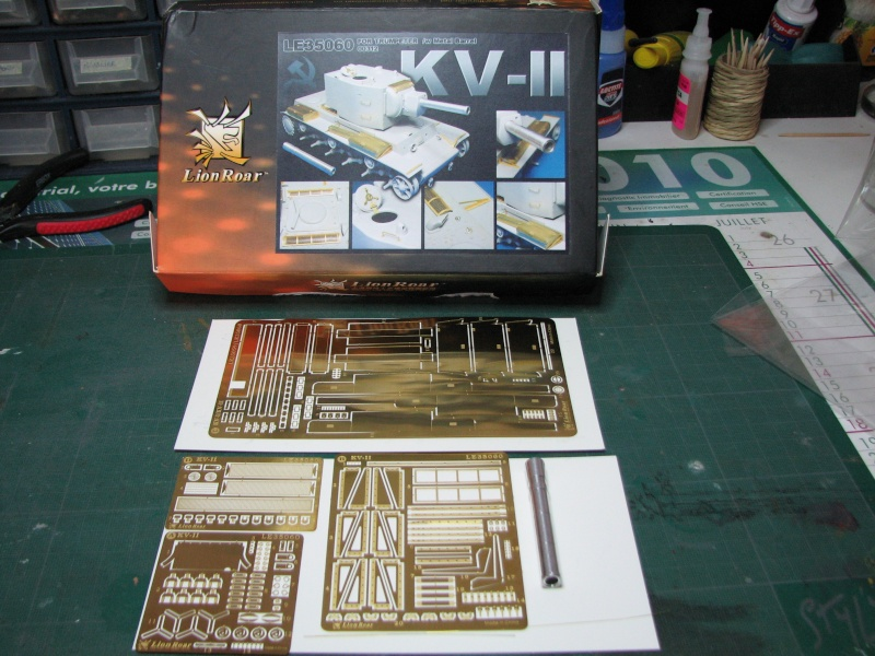 peinture - KV2 TRUMETER ET PHOTODEC LIONROAR  DEBUT DE PEINTURE  . PRE OMBRAGE Photde10