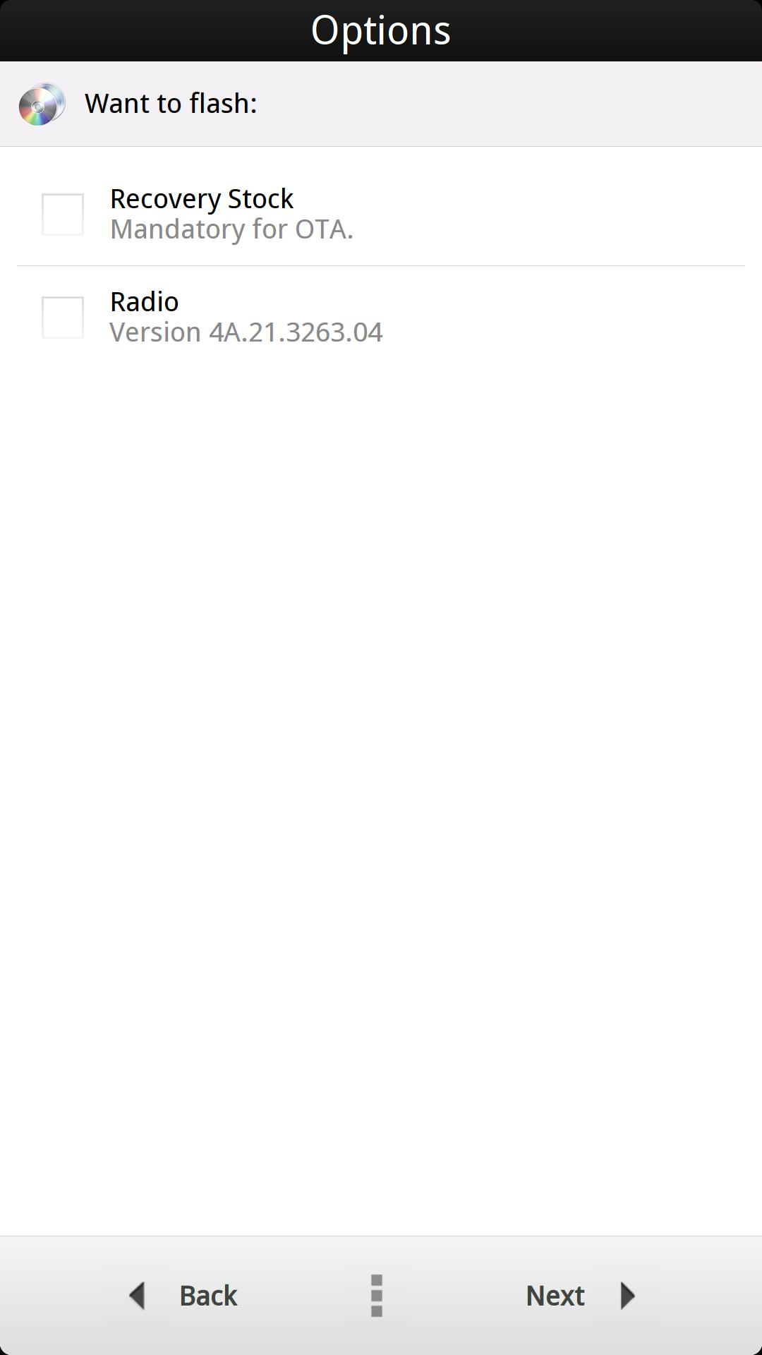 [TUTO] Revenir sur une ROM Stock pour un SAV | HTC ONE (M7) Aroma_12