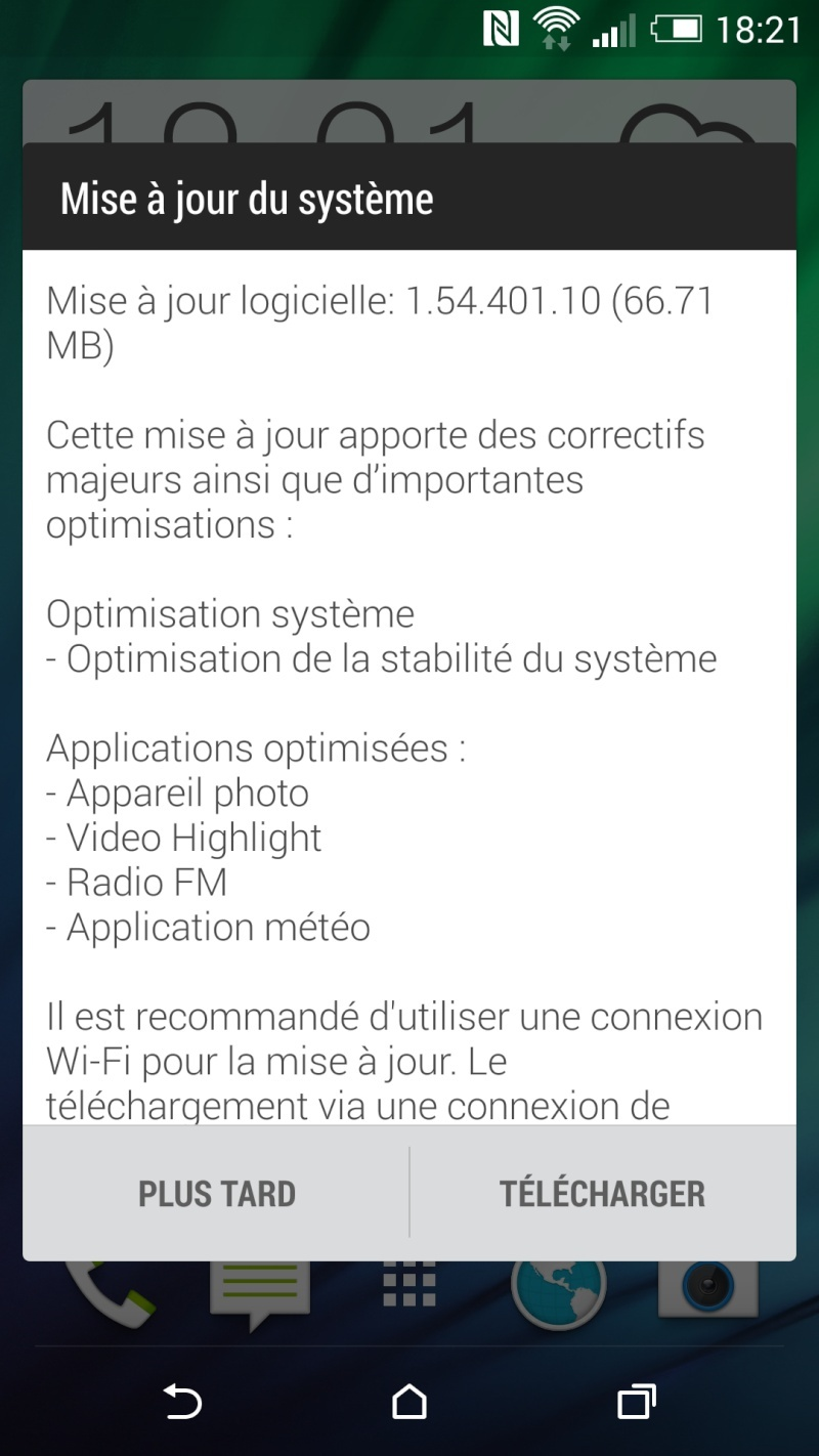 OTA 1.54.401.10 en approche pour le HTC One M8 Screen18