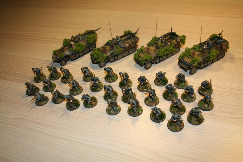 Mes grenadiers de la wehrmacht (Late) 142