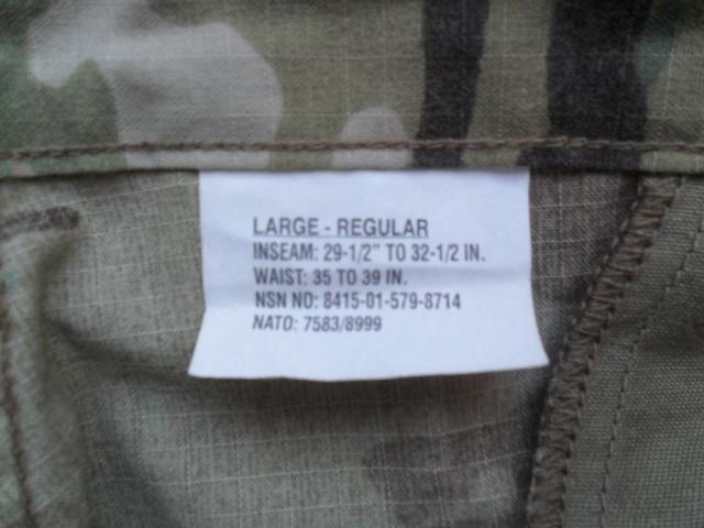 tenue US 2 ° Division Afganistan Pant_a10