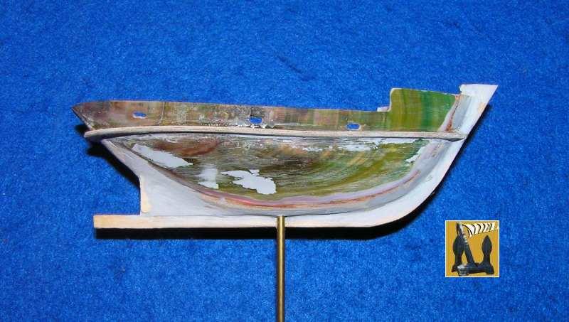 "brou en bateau-moule le "" Cala Llevado""  1710"